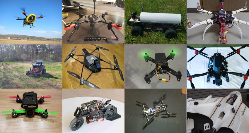 A few Navio2-powered projects from 2016